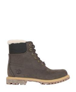 Timberland   20mm Classic Shearling Nubuck Boots
