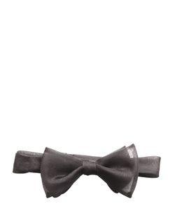 TITLE OF WORK | Silk Organza Bow Tie