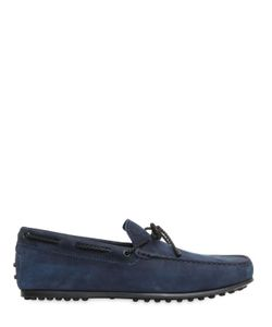 Tod'S | City Gommino Delavè Nubuck Loafers