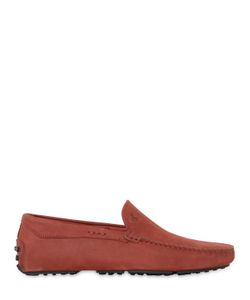 TOD'S FERRARI | Gommino Tyre Nubuck Driving Shoes