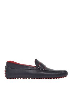TOD'S FERRARI | Gommino 122 Leather Driving Shoes