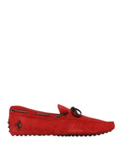 TOD'S FERRARI | New Gommini Suede Leather Driving Shoes