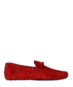 TOD'S FERRARI | 22 Gommino 122 Tie Suede Driving Shoes