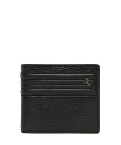 TOD'S FERRARI | Textured Leather Coin Pocket Wallet