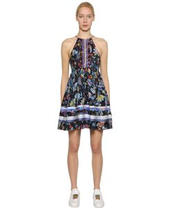 TOMMY HILFIGER COLLECTION | Floral Printed Silk Dress