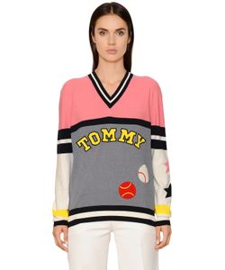 TOMMY HILFIGER COLLECTION | Patchwork Knit Sweater