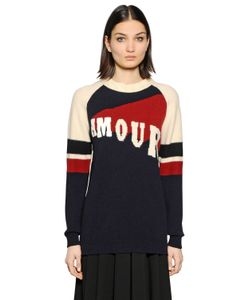 TOMMY HILFIGER COLLECTION | Amour Wool Blend Jacquard Sweater