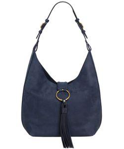 Tory Burch   Vintage Nappa Leather Hobo Bag W/ Tassel