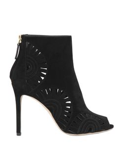 Tory Burch | 85mm Leyla Laser-Cut Suede Ankle Boots