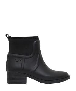 Tory Burch | 40mm Rubber Neoprene Ankle Rain Boots