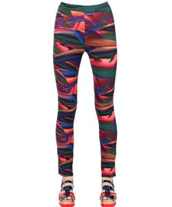 Tothem | Dolphin Printed Stretch Lycra Leggings