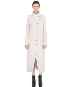 Transit Par-Such | Long Boiled Virgin Wool Coat