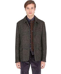 Trussardi | Prince Of Wales Alpaca Cotton Jacket