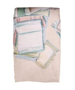 Trussardi | Book Collection Printed Cotton Blanket