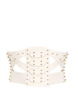 UNA BURKE LEATHER | Simple Frame Leather Corset