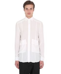 UNDERWATERLOVE+WHITEMILANO+HIGHSNOBIETY | 3.Paradis Oversized Silk Crepe Shirt