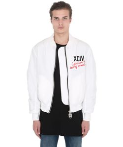 UNDERWATERLOVE+WHITEMILANO+HIGHSNOBIETY | Gcds Embroidered Logo Bomber Jacket