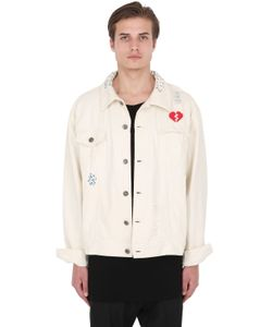UNDERWATERLOVE+WHITEMILANO+HIGHSNOBIETY | C2h4 Embroidered Denim Jacket