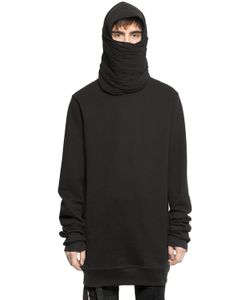 UNRAVEL | Ninja Hood Cotton Sweatshirt