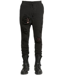UNRAVEL | Destroyed Cotton Jogging Pants
