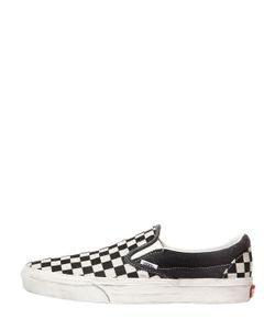 Vans | Washed Canvas Classic Slip-On Sneakers
