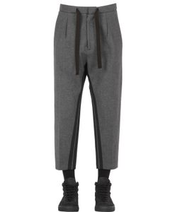 VAR CITY | Bonded Viscose Wool Flannel Pants