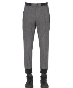 VAR CITY | Comfy Fit Cotton Wool Grisaille Pants