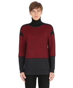 VAR CITY | Micro Houndstooth Wool Sweater