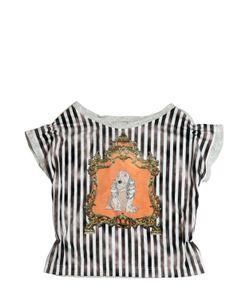 Venera Arapu | Dog Printed Cotton Jersey T-Shirt