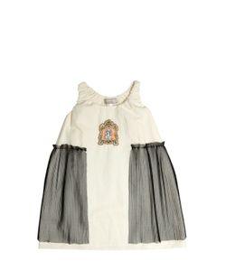 Venera Arapu | Cotton Gauze Stretch Tulle Dress