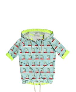 Venera Arapu | Water Resistant Snoopy Printed Raincoat