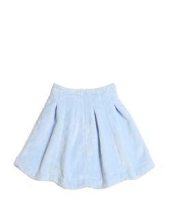 Venera Arapu | Pleated Chenille Round Skirt