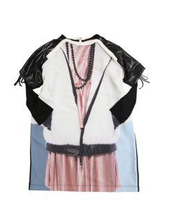Venera Arapu | Digitally Printed Crepe Cotton Dress