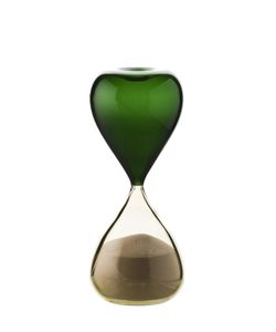 VENINI | Handmade Two Tone Glass Hourglass
