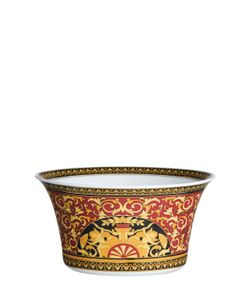 Versace | Medusa Red Porcelain Salad Bowl