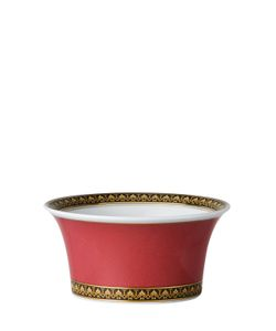 Versace | Medusa Red Porcelain Fruit Bowl