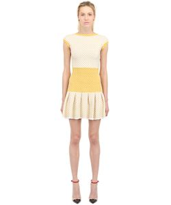 Vicedomini | Viscose Blend Knit Dress