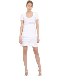 Vicedomini | Viscose Ribbed Knit Dress