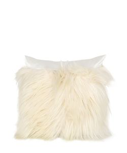 VISIONNAIRE | Selenia Decorative Fur Silk Pillow