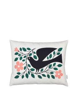 VITRA | Dove Graphic Print Pillow