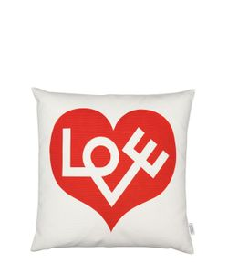 VITRA | Love Graphic Print Pillow
