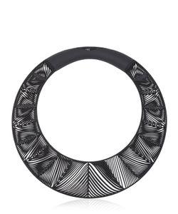 VOJD STUDIOS   Chevron Giant Torque Necklace