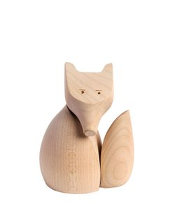WOODY ZOODY | Volpe Carved Wooden Accessory