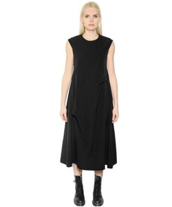 Y'S | Oversized Twisted Twill Dress