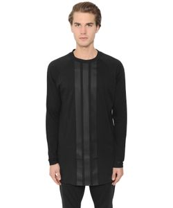 Y-3 | 3 Stripes Printed Long Sleeve T-Shirt