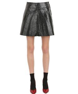 YASYA MINOCHKINA | Faux Leather Skirt