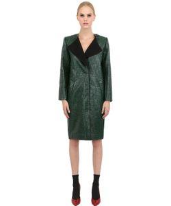 YASYA MINOCHKINA | Faux Leather Coat
