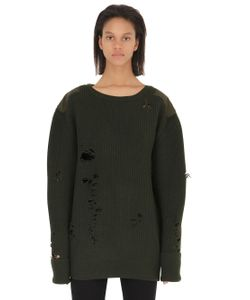 YEEZY | Destroyed Wool Sweater