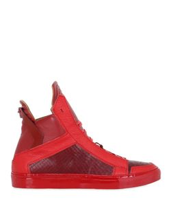 YLATI FOOTWEAR | Handmade Leather High Top Sneakers
