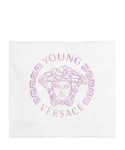 Young Versace | Double Cotton Jersey Padded Blanket